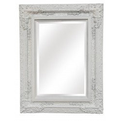 "Wall Mirror - White - 51"" x..."