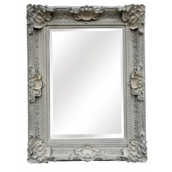 "Wall Mirror - White - 48"" x..."