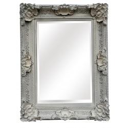 """Wall Mirror - White - 48"""" x..."""