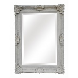 Large Wall Mirror - White -...