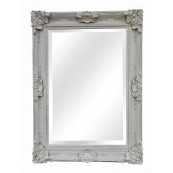 Large Wall Mirror - White -...