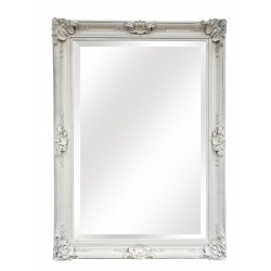 Huge Wall Mirror - White -...