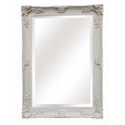 "Wall Mirror - White - 42"" x..."
