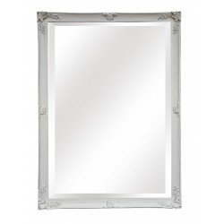Huge Wall Mirror - White -...