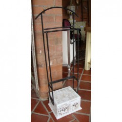 Valet / Towel Stand - White...