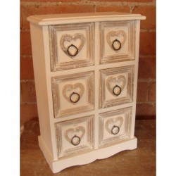 Miniature 6 Drawer Chest -...