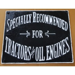 Cast Iron Tractor Oil...