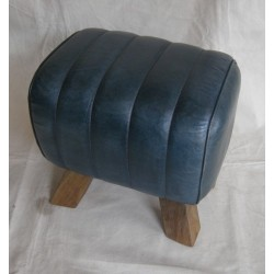 Blue Leather Pommel Horse