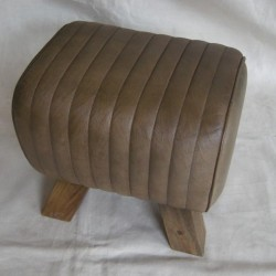 Sage Leather Pommel Horse