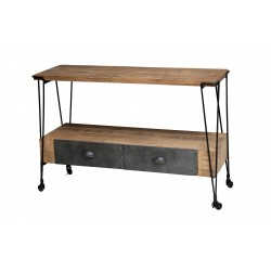 Black Smiths Console Table