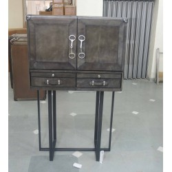 Bar Cabinet with Stand