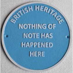 Cast Iron British Heritage...