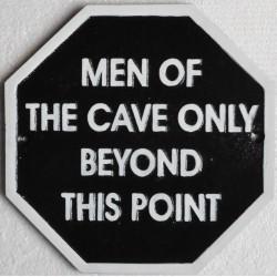 Cast Iron 'Men of the Cave...