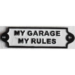 Cast Iron My Garage My...