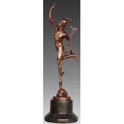 Bronze figurine of Mercury / Hermes