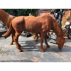Cast Iron life size Horse sculpture