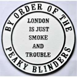 Cast Iron Peaky Blinders...