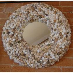 Round Convex Wall Mirror -...