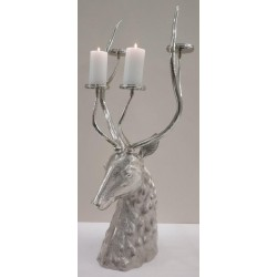 Stags head Candelabra