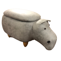Faux Leather / Suede Hippo...