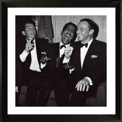 Framed wall art - The Rat Pack