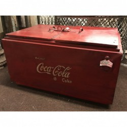 Vintage style double coke drinks holder