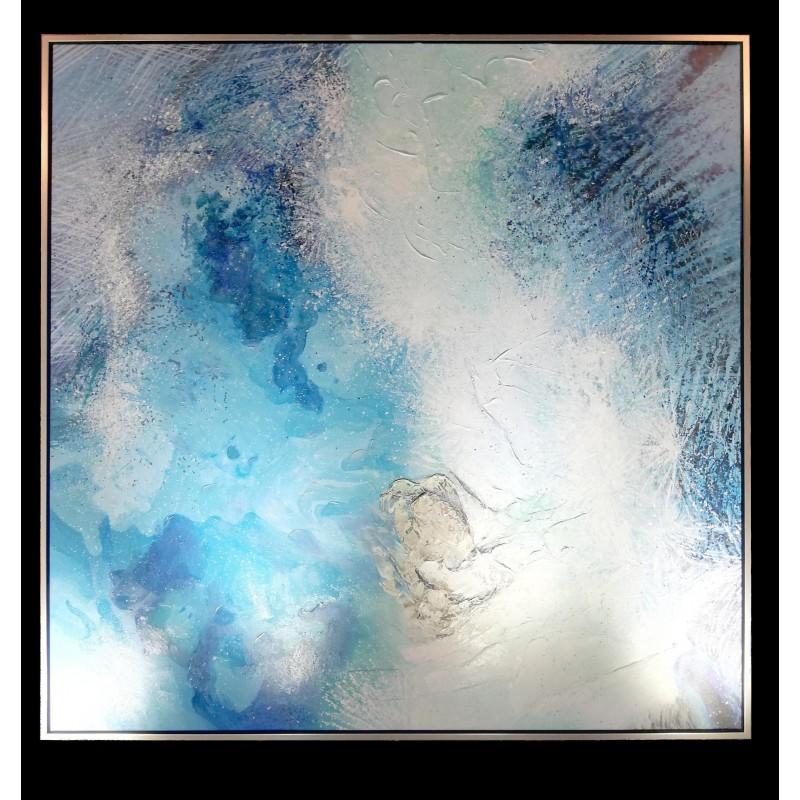 Wall art - Canvas oil painting 150 cm x 150 cm