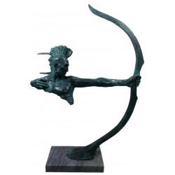 Bronze Huron American Indian - Verdigris