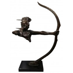 Bronze Sculpture - Huron...