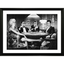 Set of three Acrylic Wall art - Entertainment Icons