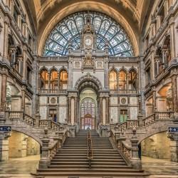 Glass Wall Art - Antwerp...