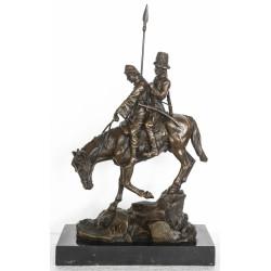 Bronze sculpture - Cossacks on Horseback