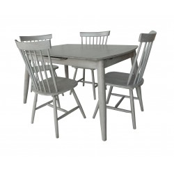 Farmhouse Style Kitchen Dining Table & 4 Chairs