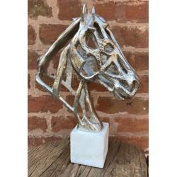 Stylised Horse Head Bust...