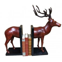 Handmade Leather Bookends...