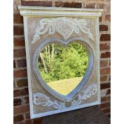 Mango Wood Mirror Frame -...