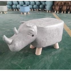 Light Grey Rhino faux...