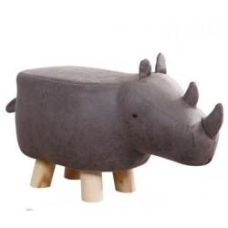 Dark Grey Rhino faux...