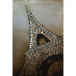 Eiffel Tower 3D Metal Wall Art