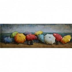 Beach Umbrellas 3D Metal...
