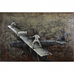 Wing Walkers 3D Metal Wall Art