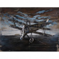 Triplane 3D Metal Wall Art