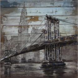 Brooklyn Bridge 3D Metal...