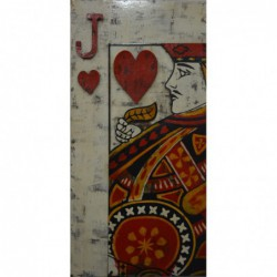 Jack of Hearts 3D Metal...