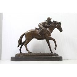 Bronze Lady Jockey /...