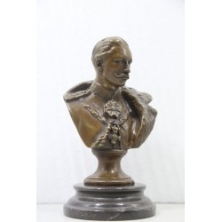 Bronze Bust on Marble Base...