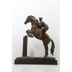 Bronze Sculpture - Male...