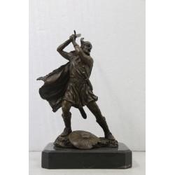 Bronze Sculpture of a...