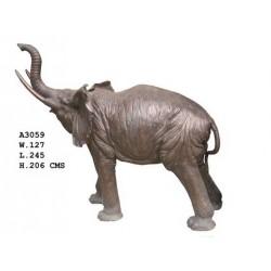 Huge Bronze Elephant -...