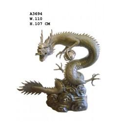 Large Bronze Dragon...